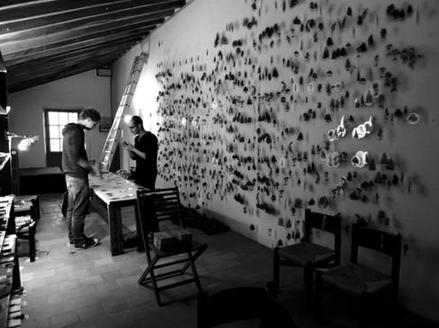 Hema Upadhyay, Atelier Calder , Saché - Photo Guillaume Blanc