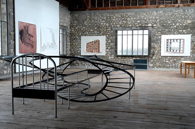 Los Carpinteros, Atelier Calder photo Guillaume Blanc