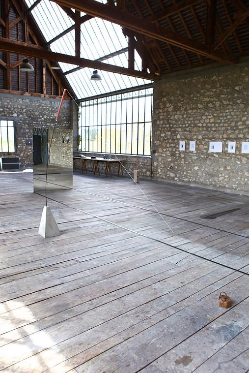 Kitty Kraus, Atelier Calder, saché -Photo Guillaume Blanc
