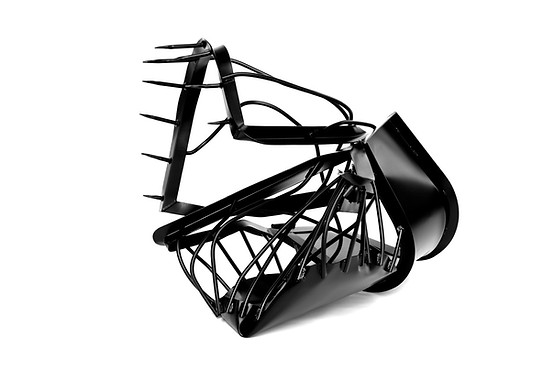 Monika Sosnowska, Atelier Calder, Saché - Photo Guillaume Blanc