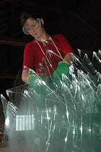 Tara Donovan, Atelier Calder, Photo Guillaume Blanc