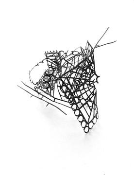 Monika Sosnowska, Atelier Calder, Saché - Photo Guillaume Blanc.