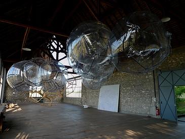 Tomás Saraceno, Atelier Calder, Saché - Photo Guillaume Blanc