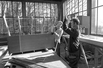 Michael Beutler, Atelier Calder, Saché, photo Guillaume Blanc
