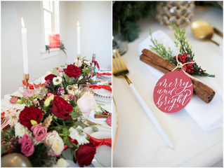 Double Christmas Styled Shoot