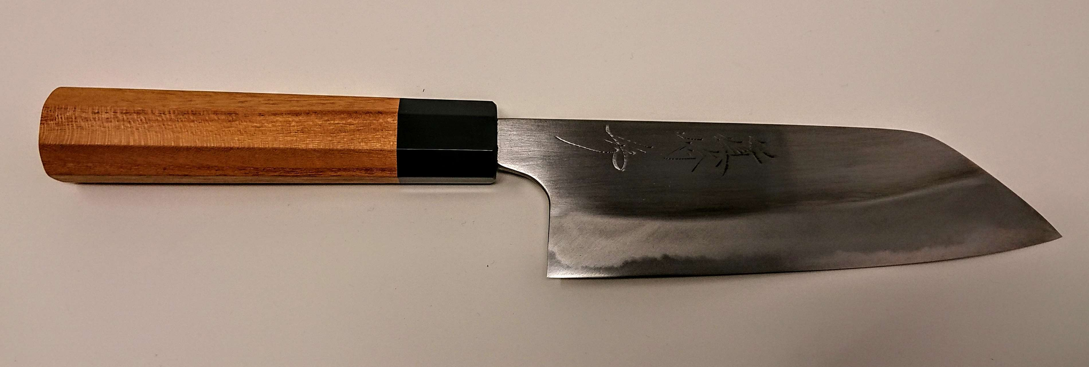 Hammer Forged Shirogami2 Santoku150mm