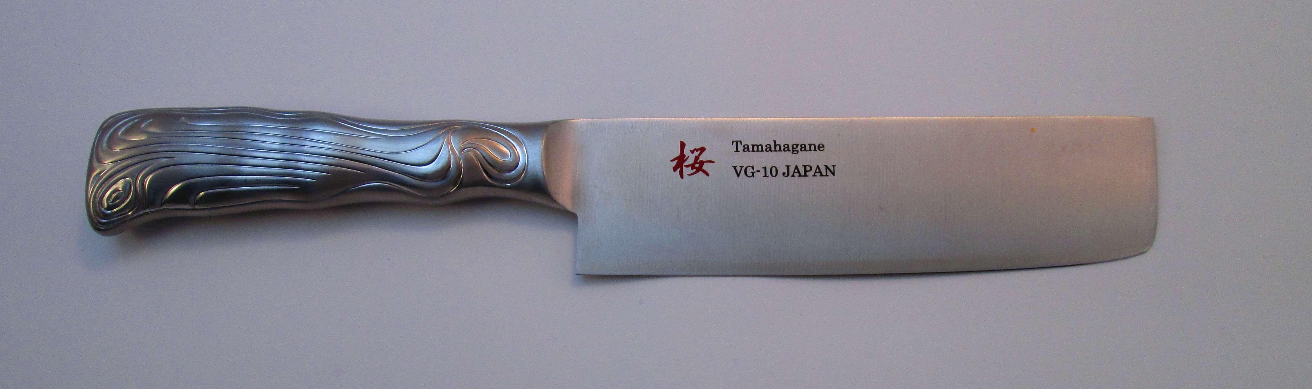 SAKURA VG-10 SShandle Nakiri160mm