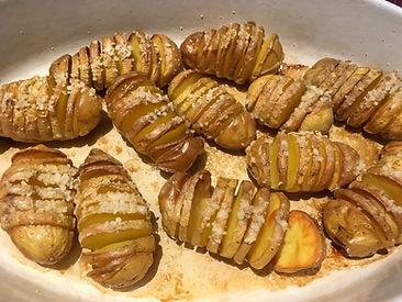 Fleur de sel, recette facile, idée recette, pomme de terre