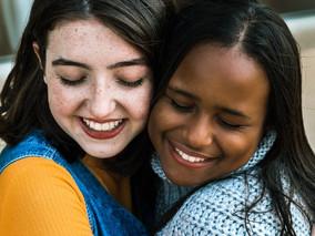 Black girl, White girl...Friends forever