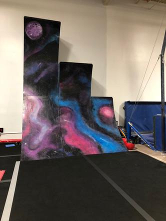 Galaxy Warped Walls