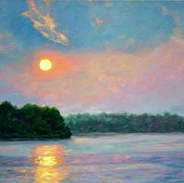 Sunset Reflections 18x24.jpg