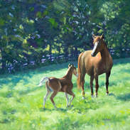Mother and Foal 16x20.jpg