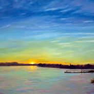Sunset on the River 24x30.jpg