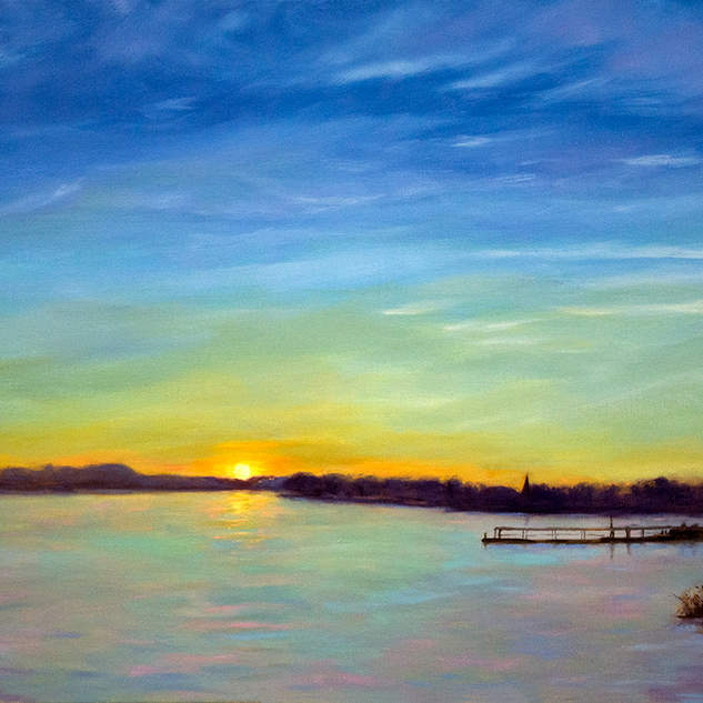 Sunset on the River 24x30.jpg