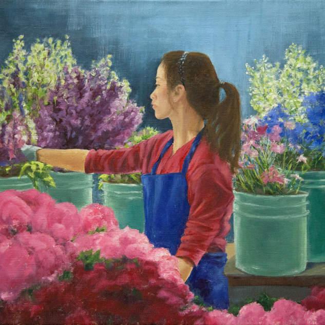 Flower Shop Girl 18x24.jpg