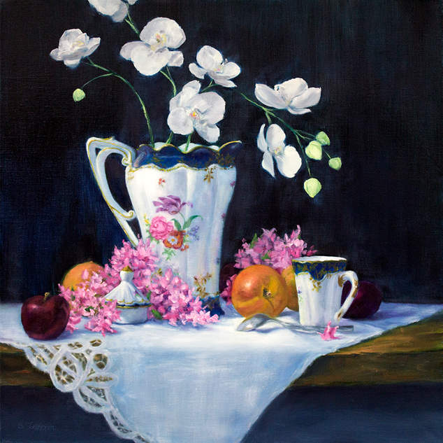 Chocolate Pot and Cup 24x24.jpg
