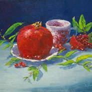 Pomegranate & Cup 9x12.jpg
