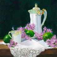 Chocolate Pot and Limes 12x12.jpg