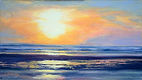 At the Beach Sunset 8x14.jpg