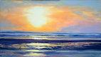 At the Beach Sunset 8x14.jpg