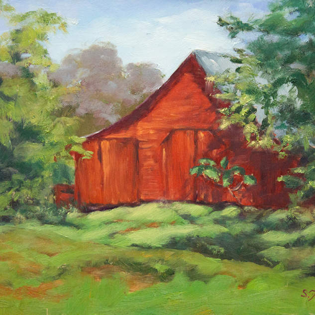 Red Barn on Richfield Road 9x12.jpg