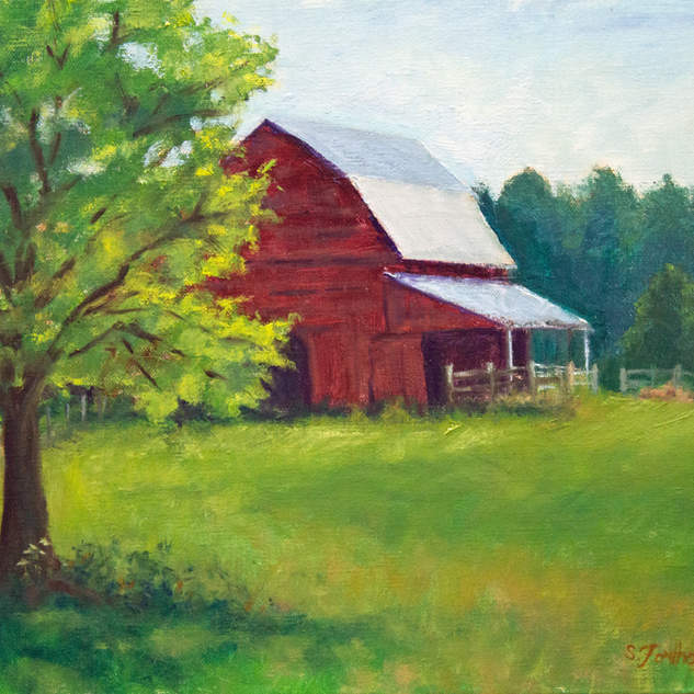 The Red Barn 9x12.jpg