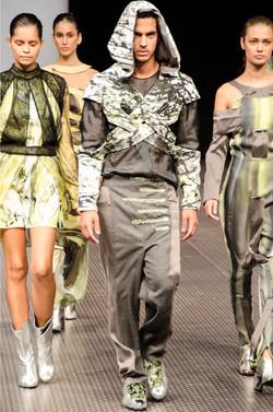 תצוגת אופנה הדנה חנצינסקי