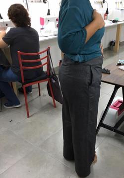 מכנסיים מקורס תפירה