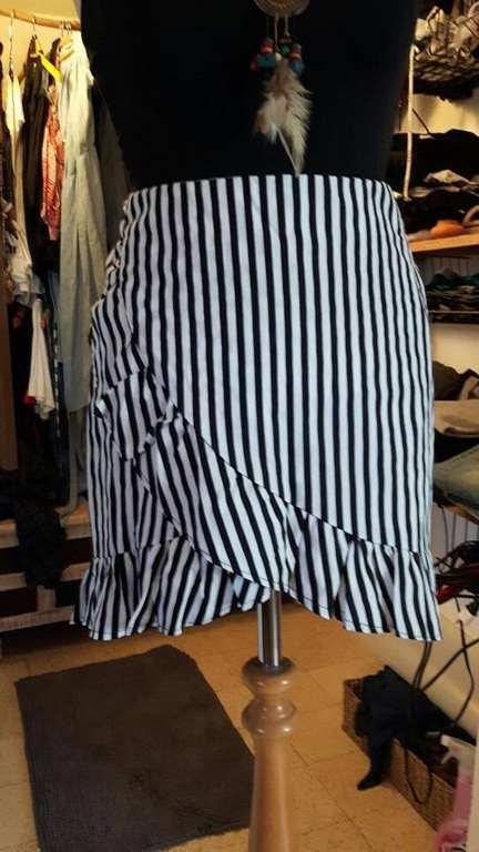 קורס תפירה ותדמיתנות חצאית א-סימטרית