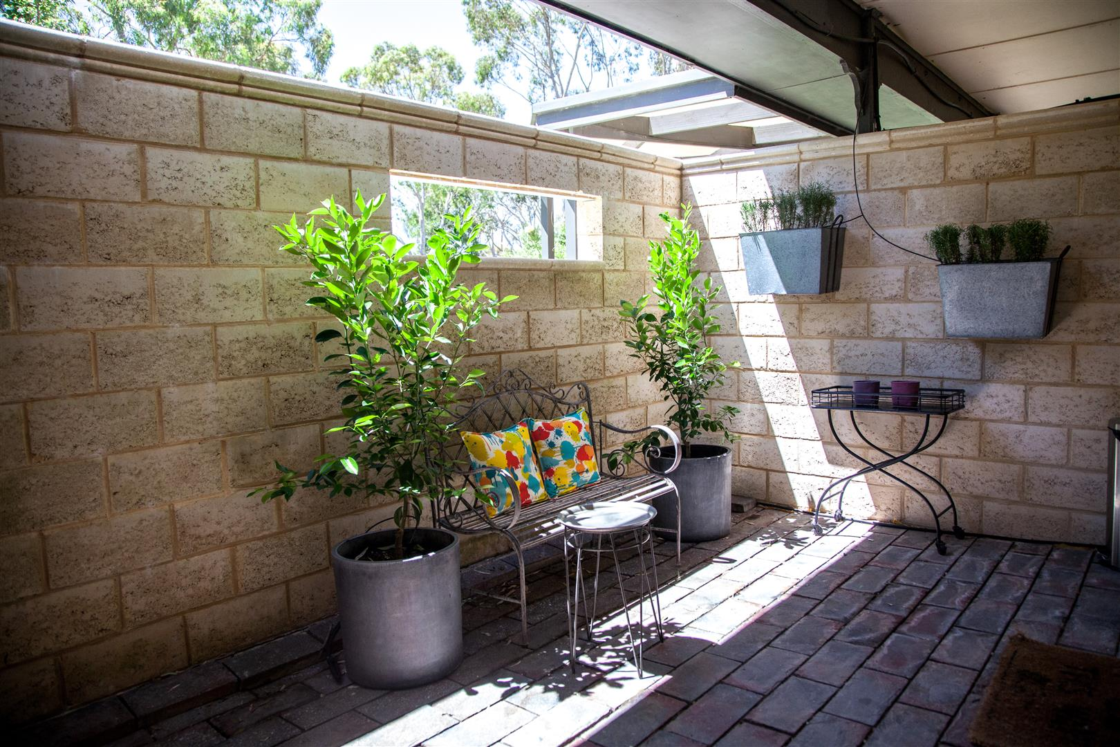1 bed courtyard