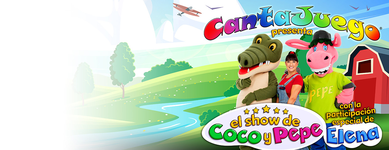 Cantajuego presenta: El show de Coco y Pepe
