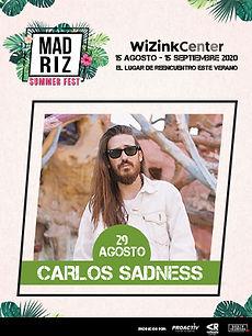 Carlos Sadness MadTickets