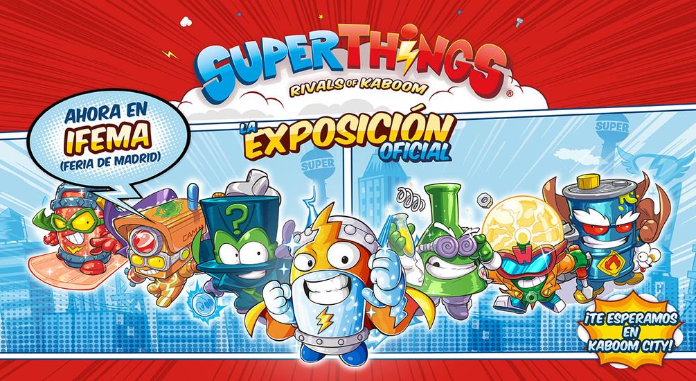EXPOSICIÓN SUPERTHINGS