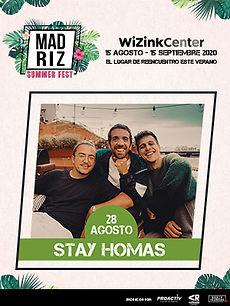 Stay Homas MadTickets