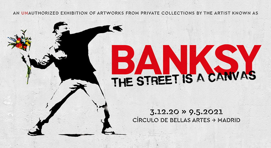 BANKSY - THE STREET IS A CANVAS