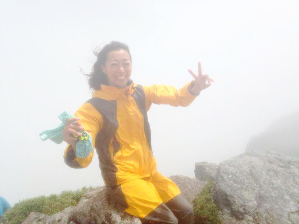 九州最高峰宮之浦岳山頂