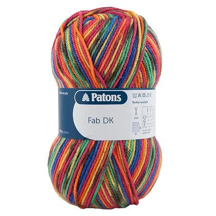 2085 Rainbow Colour Patons Fab DK