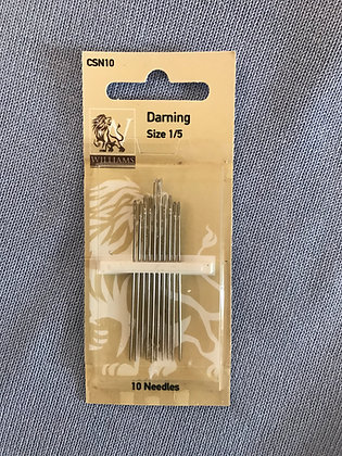 Williams Sewing Needles Darning 1/5
