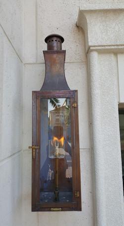 gas lamp