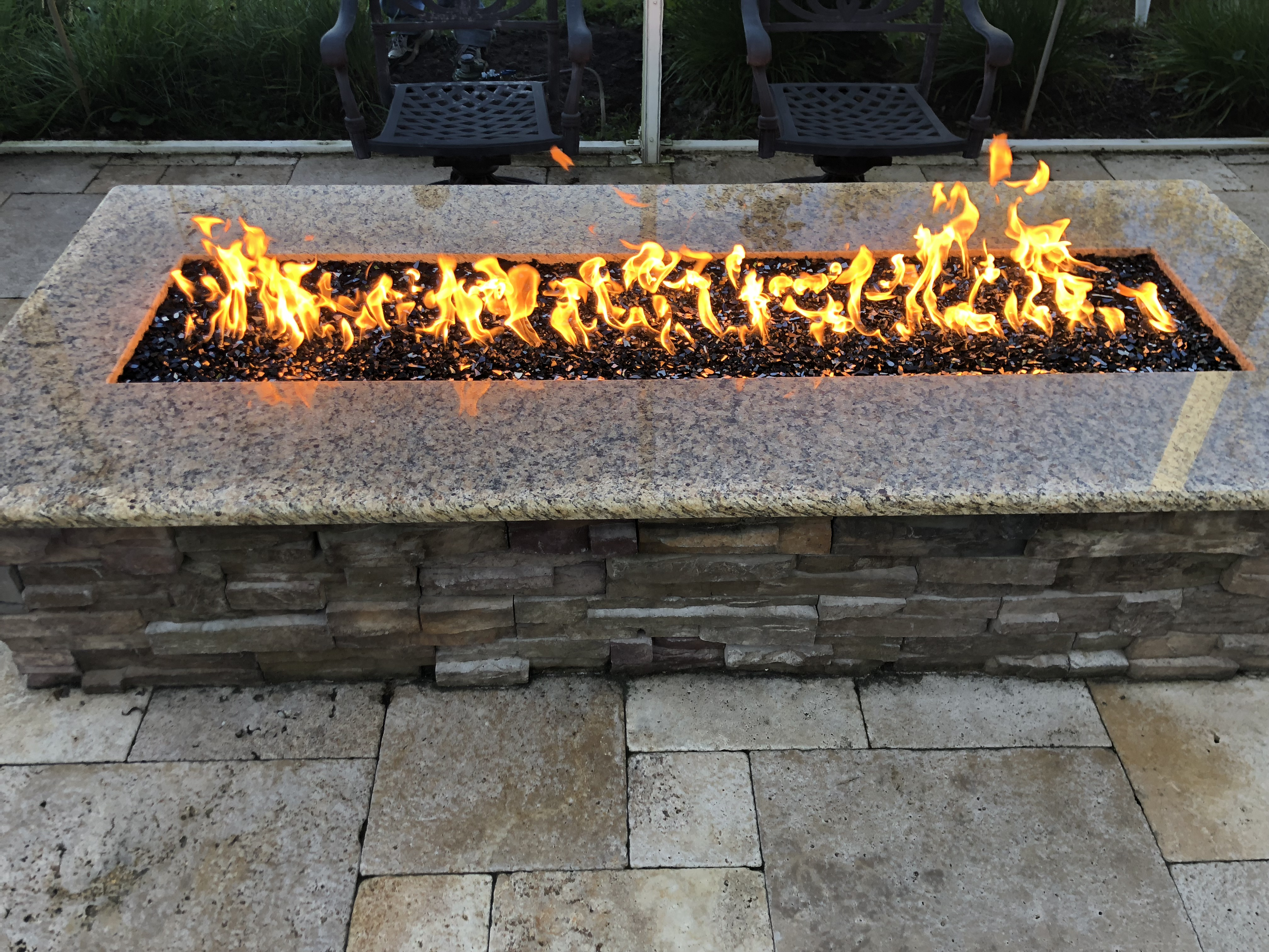 L Fire Pit