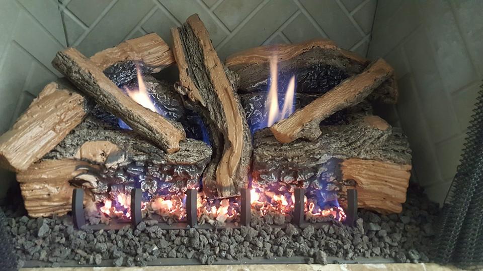 Vent Free Logset