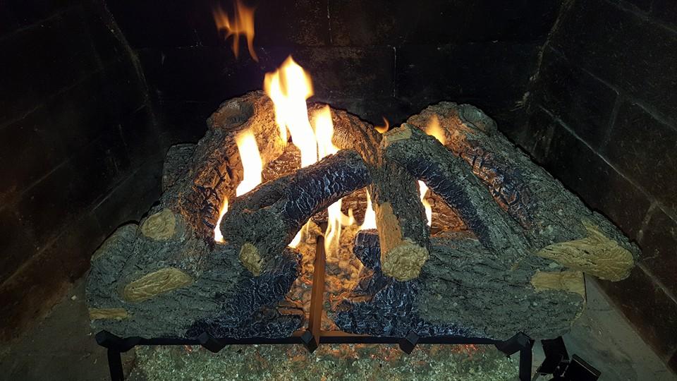 Vented Log set