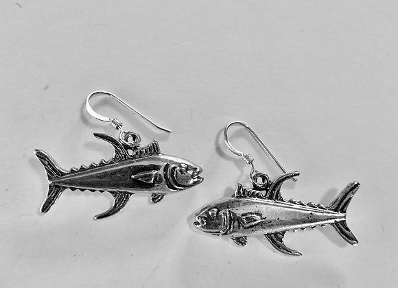 Yellow Fin Tuna Earrings