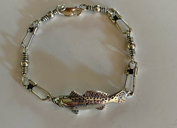 "7"" Speckled Trout Bracelet"