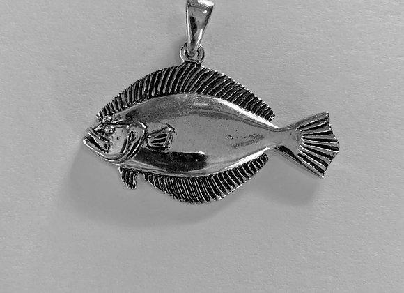 Large Flounder Pendant