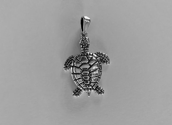 Large Saltwater Turtle Pendant