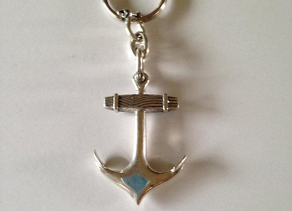 Old Anchor Key Ring