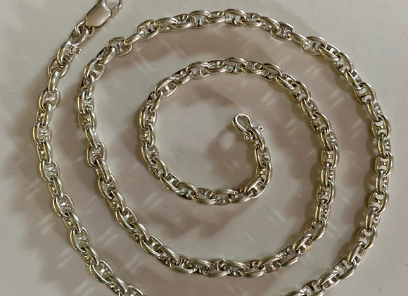 Small Anchor Chain Necklace