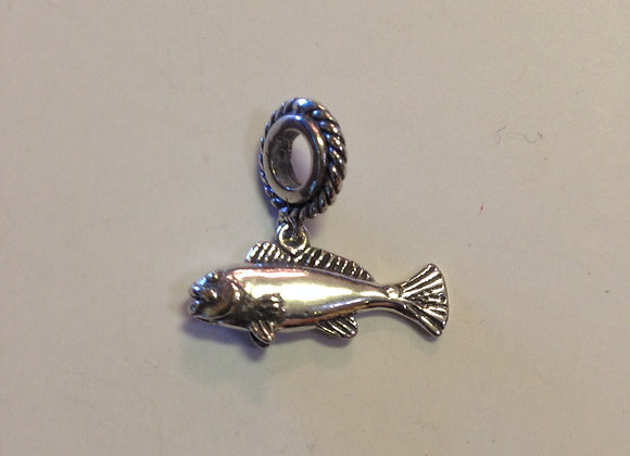 Red Fish Charm