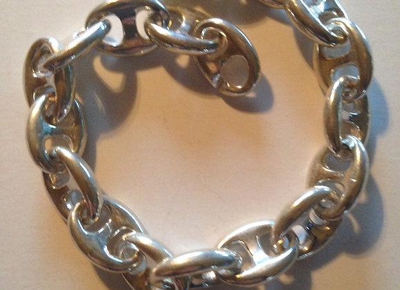 "10"" Large Anchor chain Bracelet"